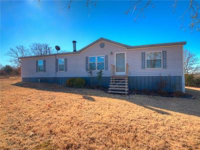 Newalla Single Family Home For Sale: 7805 S Luther Road