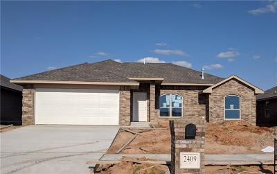 Midwest City Single Family Home For Sale: 2409 Snapper Lane