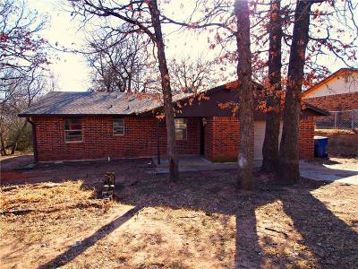 Choctaw Single Family Home For Sale: 14344 Steele Drive