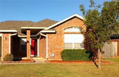 Yukon OK Single Family Home For Sale: $154,000