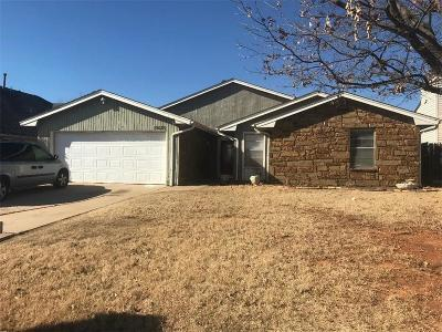 Moore Single Family Home For Sale: 10029 S Fairview