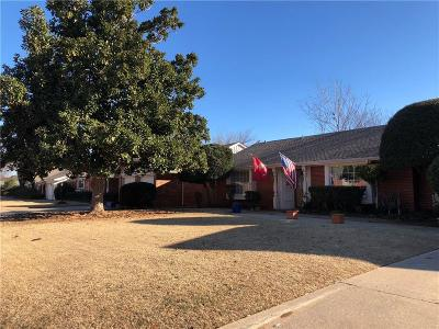 Oklahoma City Single Family Home For Sale: 2704 NW 69th Street