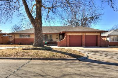 Midwest City Single Family Home For Sale: 308 W Glenhaven Drive