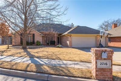 Edmond Single Family Home For Sale: 2716 Stafford
