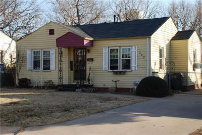 Midwest City Single Family Home For Sale: 322 E Fairchild Drive