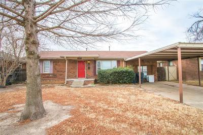 Oklahoma City OK Single Family Home For Sale: $78,000