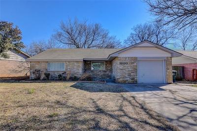 Norman Single Family Home For Sale: 1600 Sunrise Street