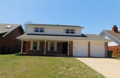 Midwest City Single Family Home For Sale: 1008 W Idylwild Drive
