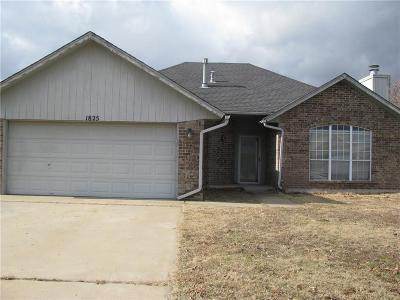 Choctaw Single Family Home For Sale: 1825 Butterfield