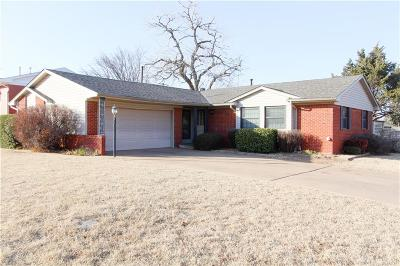 Oklahoma City OK Single Family Home For Sale: $128,000