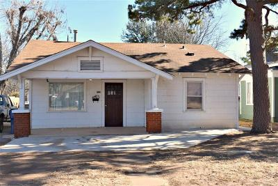 Chickasha Single Family Home For Sale: 723 S 17th Street