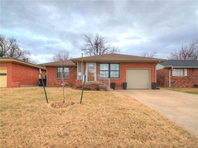 Oklahoma City OK Single Family Home For Sale: $122,900