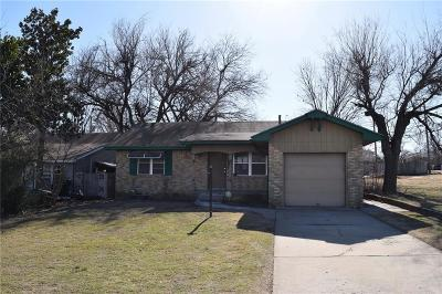 Oklahoma City OK Single Family Home For Sale: $72,000