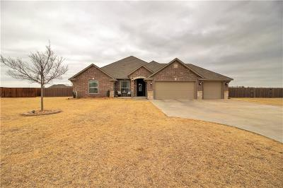 Tuttle Single Family Home For Sale: 620 Esther Drive