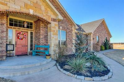 Goldsby Single Family Home For Sale: 1382 E Redbud Road