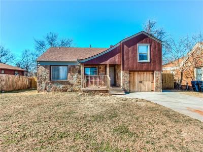 Oklahoma City Single Family Home For Sale: 3213 N Youngs Boulevard