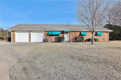 Chickasha Single Family Home For Sale: 3105 S 9th Street