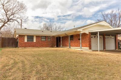 Del City Single Family Home For Sale: 3001 Lazy Lane