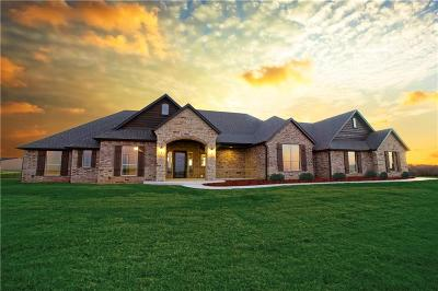 Tuttle Single Family Home For Sale: 730 10 Whispering Lakes Dr Court #40552049