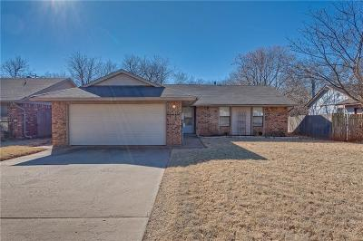 Edmond Single Family Home For Sale: 1312 Lapwing Road
