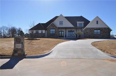 Norman Single Family Home For Sale: 5400 Cottonwood Creek Circle