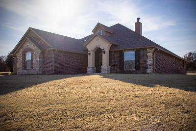 Blanchard OK Single Family Home For Sale: $284,000
