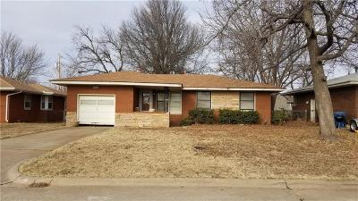Midwest City Single Family Home For Sale: 205 W Rose
