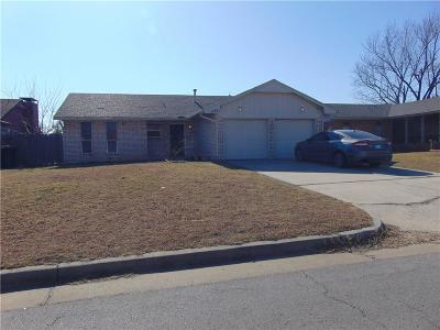 Oklahoma City OK Single Family Home For Sale: $99,900