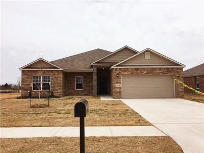 Mustang Single Family Home For Sale: 4801 Fieldstone Drive