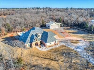 Choctaw Single Family Home For Sale: 2600 S Peebly Road