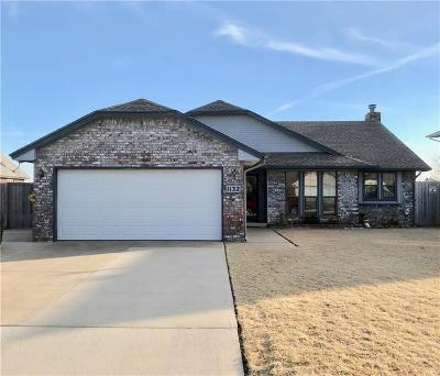 Oklahoma City Single Family Home For Sale: 1132 SW 100th Terrace