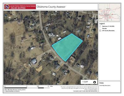 Choctaw Residential Lots & Land For Sale: 2624 Overholser Drive