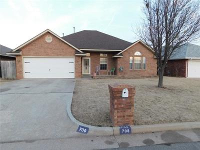 Yukon Single Family Home For Sale: 708 Tumbleweed Drive
