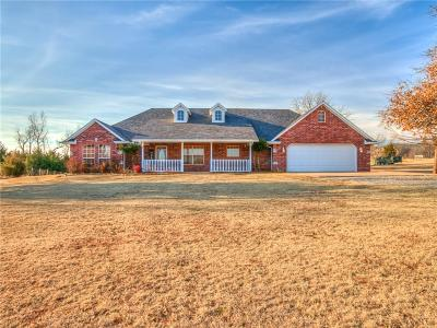 Blanchard OK Single Family Home For Sale: $195,900