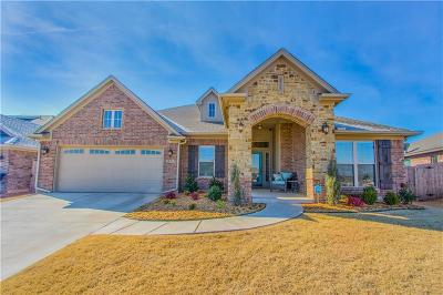 Edmond Single Family Home For Sale: 18717 Vivo Drive