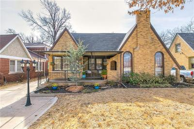 Oklahoma City Single Family Home For Sale: 3324 NW 21st Street