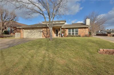 Edmond Single Family Home For Sale: 2408 Brookdale