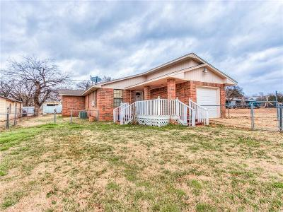 Oklahoma City Single Family Home For Sale: 2605 1/2 SE 38th