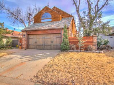 Oklahoma City Single Family Home For Sale: 12114 Cliff Rose Drive