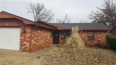 Chickasha Single Family Home For Sale: 1606 W Montana Avenue