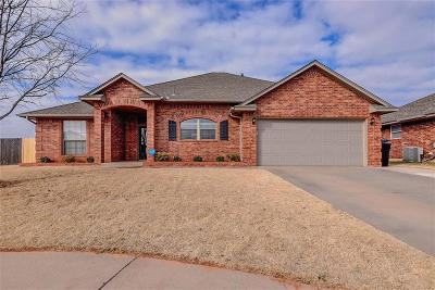 Moore Single Family Home For Sale: 9313 Crooked Creek Lane