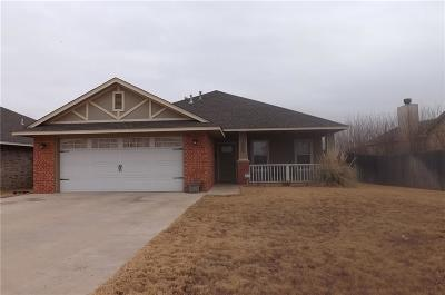 Altus OK Single Family Home For Sale: $155,000