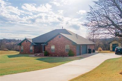 Choctaw Single Family Home For Sale: 7801 Valley Creek Drive