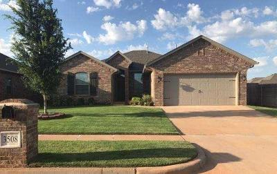 Edmond Single Family Home For Sale: 3508 NW 164th Terrace