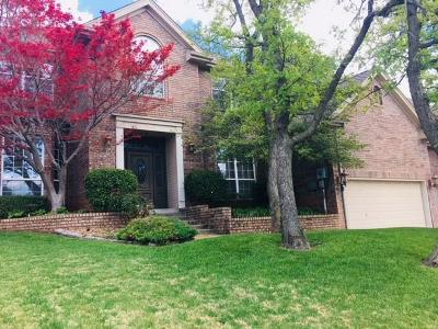 Edmond Single Family Home For Sale: 1508 Vail Drive