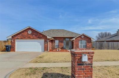 Moore Single Family Home For Sale: 2300 Port Rush Drive