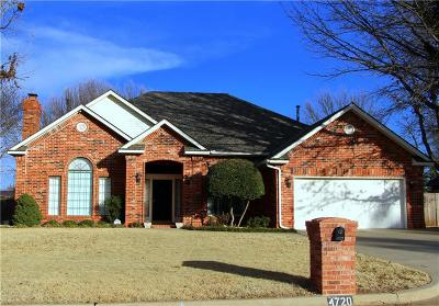 Norman Single Family Home For Sale: 4720 Crystal Lake Road