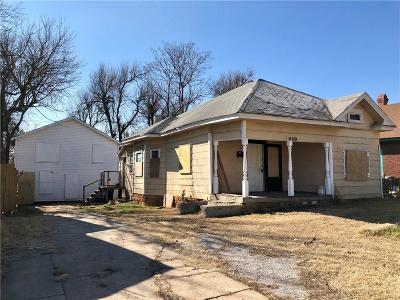 Oklahoma City Single Family Home For Sale: 1910 NW 8th