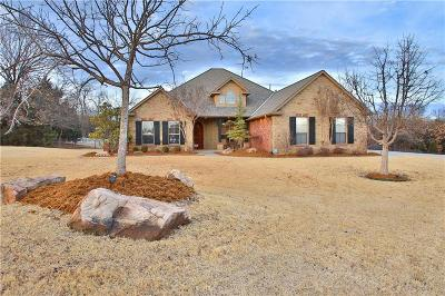 Edmond Single Family Home For Sale: 4103 Hickory Creek Lane