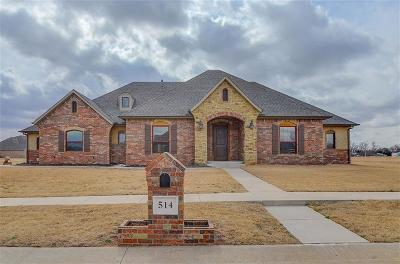 Tuttle Single Family Home For Sale: 514 Cantebury Drive